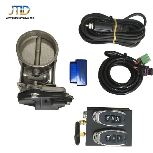 JTLD Electric Exhaust Valve with Remote Controller OBD and APP type auto version
