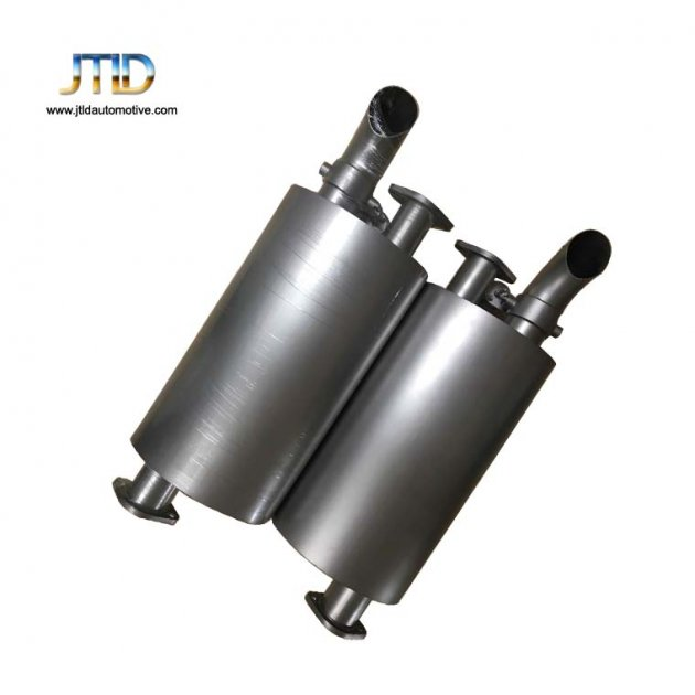 Welding Flanged Exhaust Muffler With Remote Control Valve