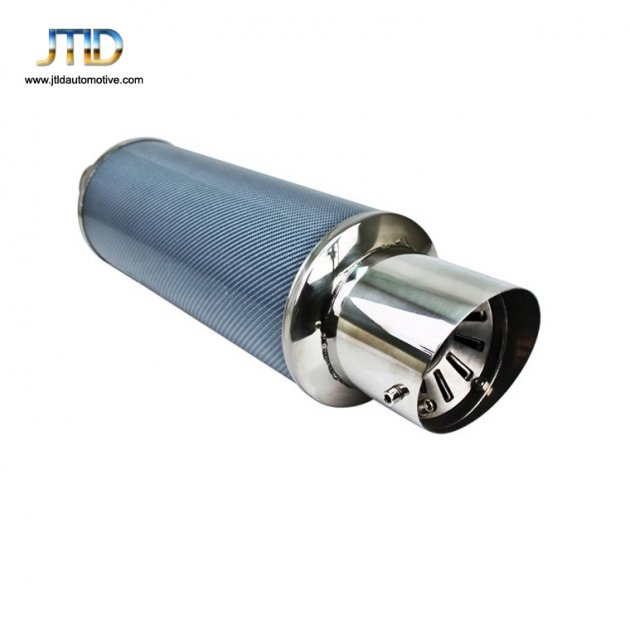 JTM-046 Auto parts universal  Stainless Steel exhaust muffler