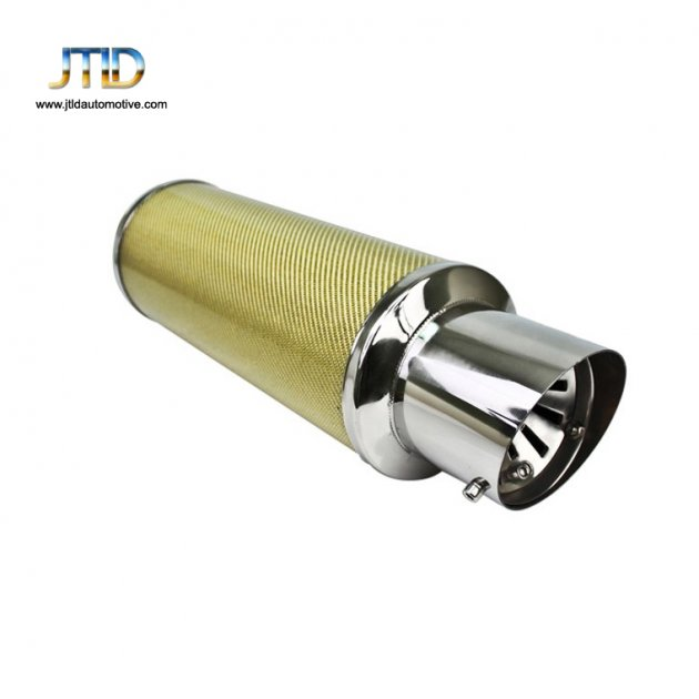 JTM-047 Auto parts universal car Stainless Steel exhaust muffler