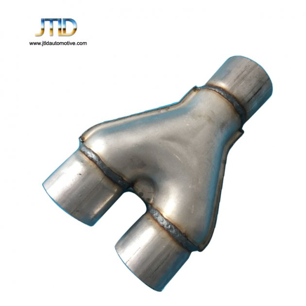 polishing car Exhaust pipe Y pipe Aluminized