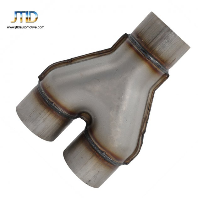 polishing car Exhaust pipe Y pipe 409 Stainless steel