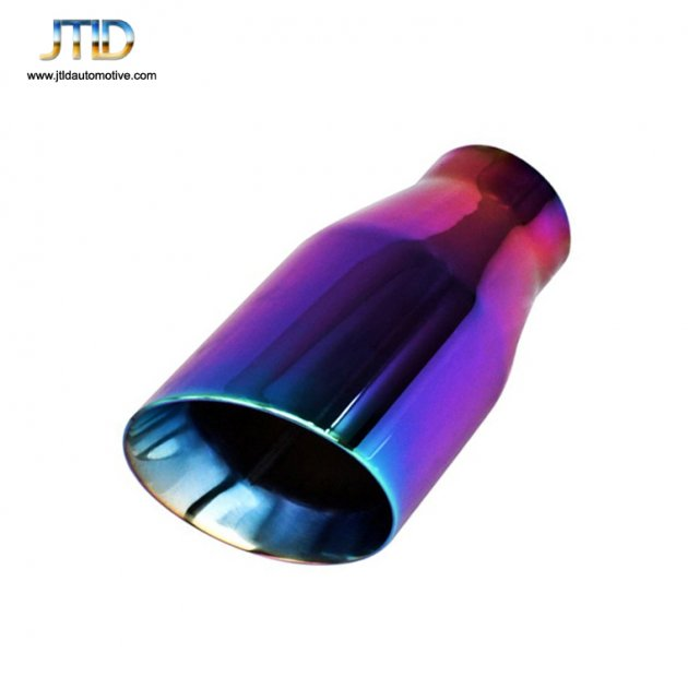 JTS-1ACP  Stainless Steel purple EXHAUST TIP
