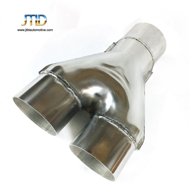 polishing car Exhaust pipe Y pipe 304/201 Stainless steel