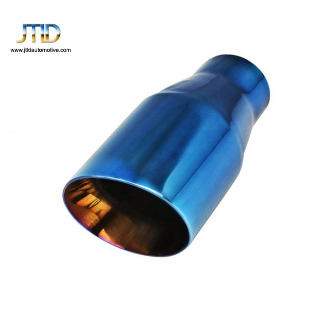 JTS-1ACU  Stainless Steel blue EXHAUST TIP