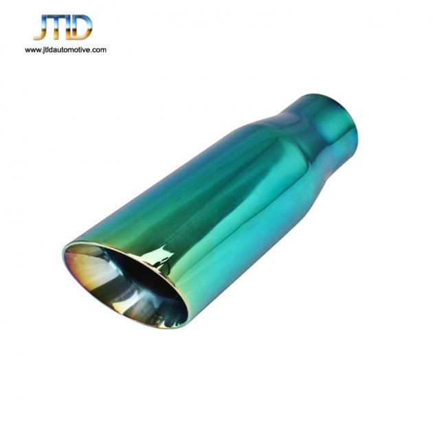 JTS-3DWG Stainless Steel green EXHAUST TIP