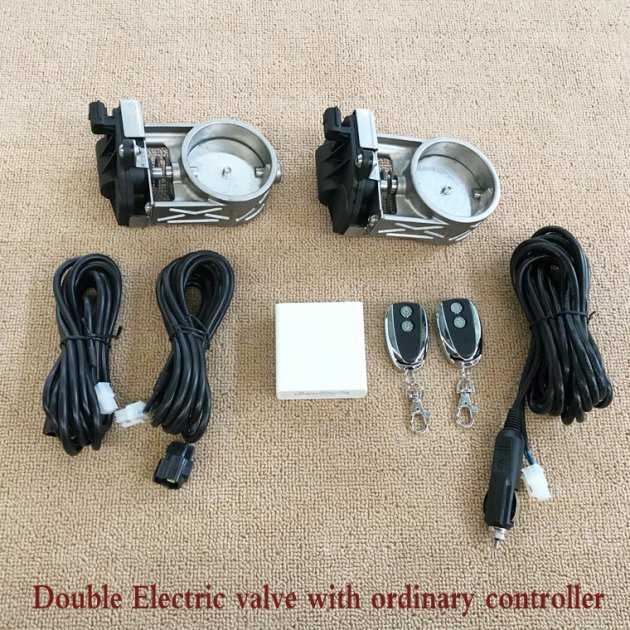 Double  Electric Valve with Common Remote control