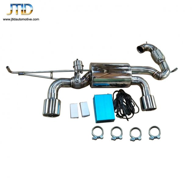 Exhaust System For Benz Smart