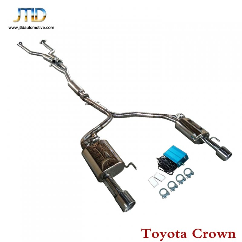 Exhaust System For Toyota Crown - JTLD automotive|exhaust
