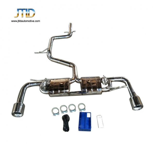 JTS-VW-004 Exhaust system For VW Golf 6 GTI