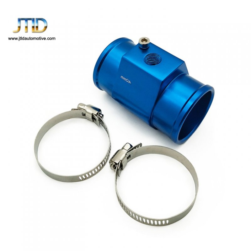 24-26mm automotive aluminum anodized tee pipe hose fittings adapter three links connector for car dashboard