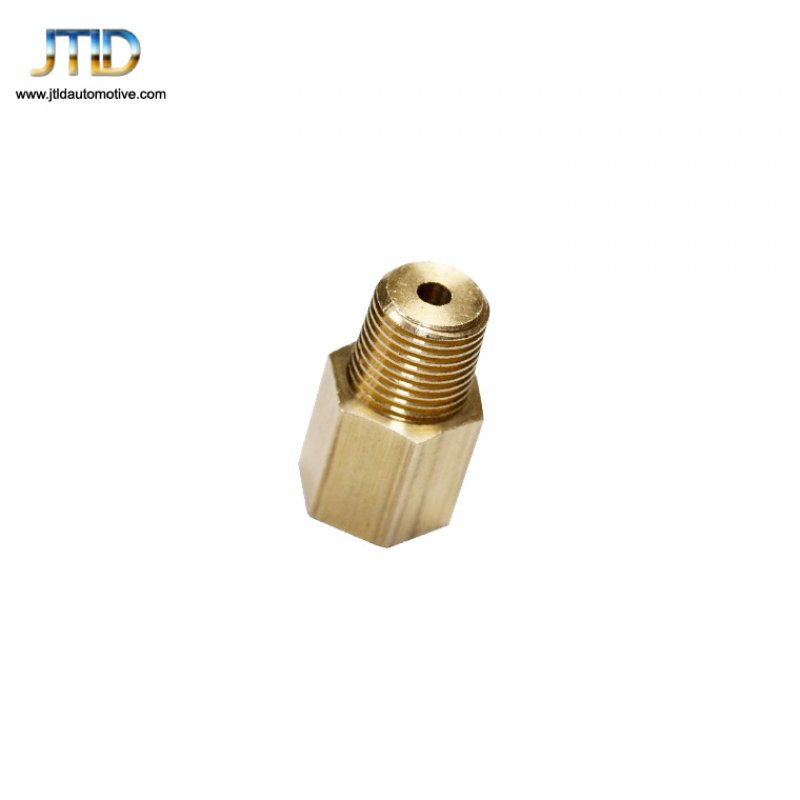 1/8-27 NPT Female to 1/8 BSPT Male Gauge Sensor screw Thread Adapter