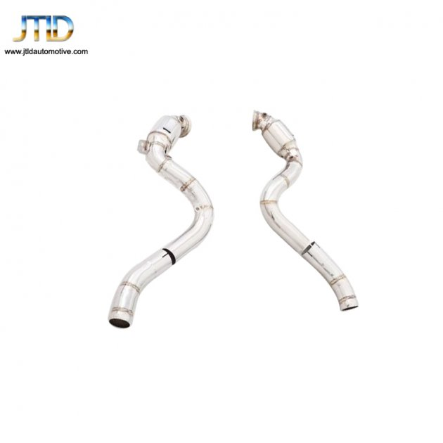 Exhaust System For Benz W205 C63