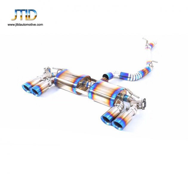 JTS-VW-008  Exhaust System For VW Golf 7R