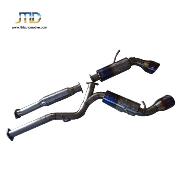 JTSS-SU-004 Exhaust System For SUBARU BRZ COUPE 13-UP PERFORMANCE CATBACK EXHAUST SYSTENM GT86