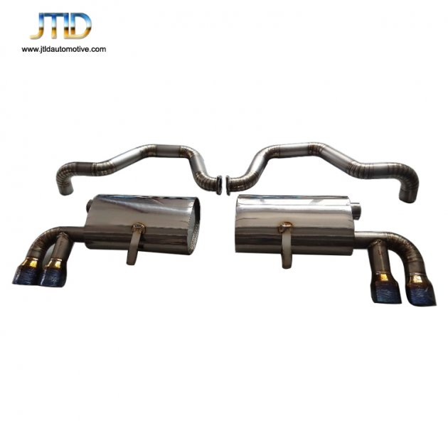 JTS-CH-004  Exhaust System For Chevrolet Corvette C5 5.7L & Z06 97-04 TOP SPEED PRO-1 Titanium