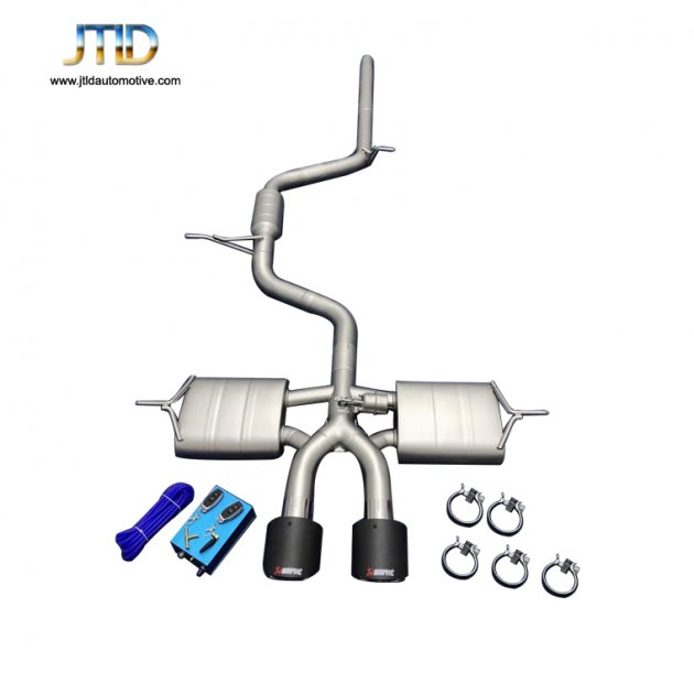 JTS-VW-009  Exhaust System For VW Golf 7.5