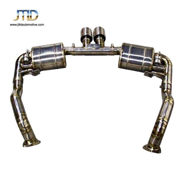 JTS-PO-015 Exhaust System For Porsche Boxster   Cayman 987  987.2
