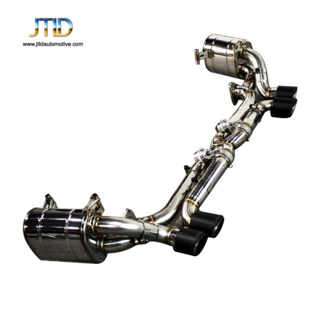 JTS-PO-014 Exhaust System For 304SS Porsche 991
