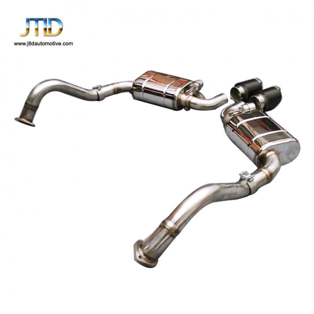 JTS-PO-013  Exhaust System For  04SS Porsche Boxster  Cayman 981    2.7 3.4
