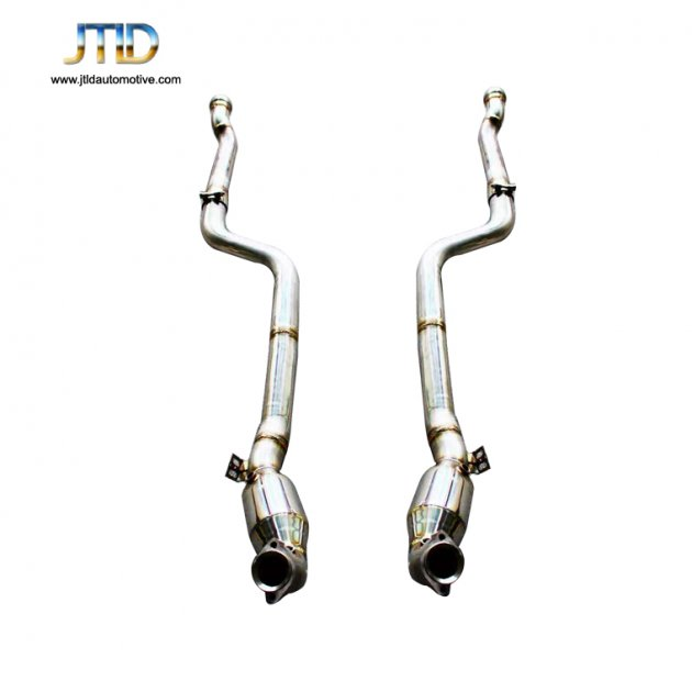 JTDBE-009 Exhaust Downpipe For Benz mercedes E63 W212