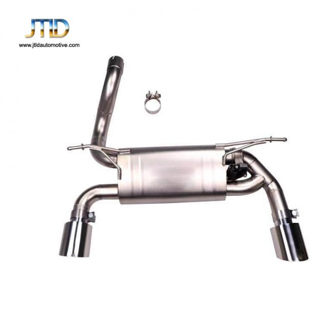 Exhaust System For Jeep Wrangler